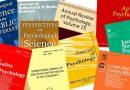 মনোবিজ্ঞানের SSCI ইনডেক্স সম্পন্ন জার্নাল ২০১৯  (Psychology SSCI Journal 2019)