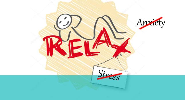 Relax from anxiety